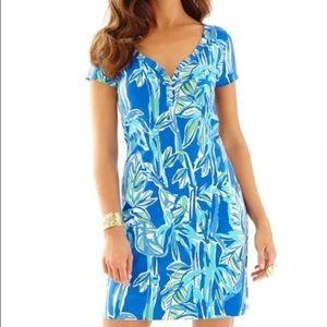 Lilly Pulitzer | Palmira V-Neck T-Shirt Dress L